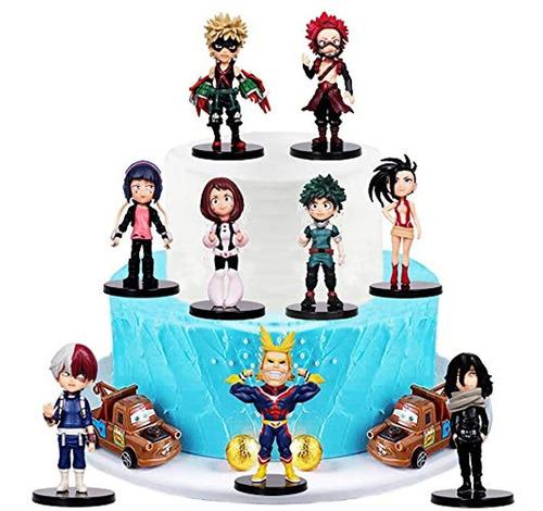 My Hero Academia - Sombrero Para Tarta De Cumpleaños Para Ni
