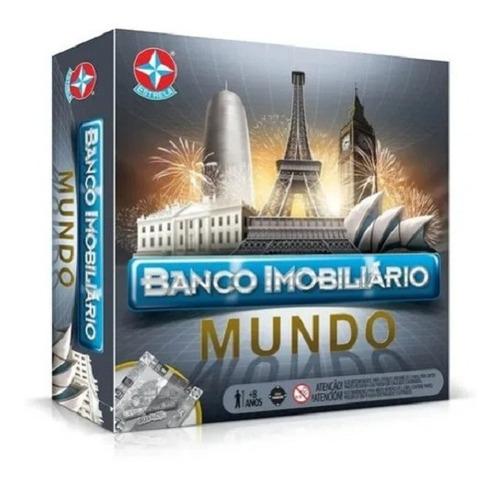 Jogo De Tabuleiro Banco Imobiliário Mundo - Estrela 806628