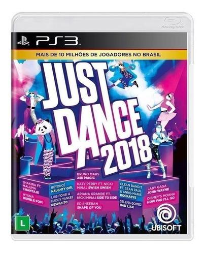Just Dance 2018 Ubisoft Ps3  Físico