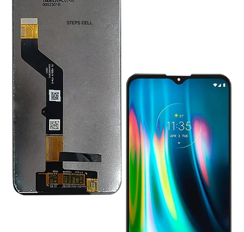 Frontal Tela Touch Display Moto G9 Play Xt2083 Completa
