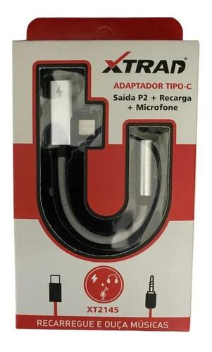 Adaptador -tipo C Com Saída P2 Microfone E Recarga 2145