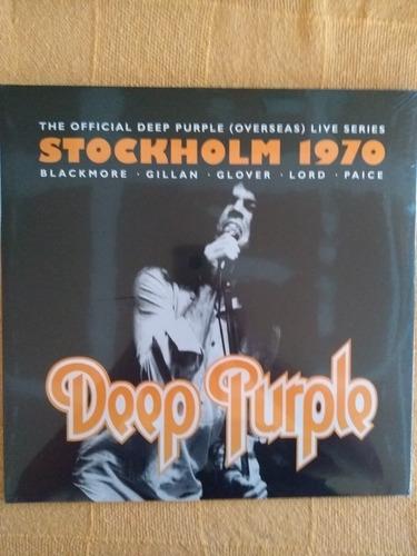 Lp Deep Purple Stockholm 1970