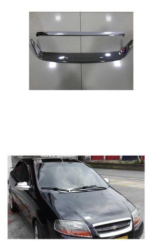 Chevrolet Aveo Emotion,familly Kit Frontal Cromado 2 Piezas