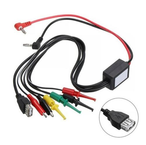 Cable Para Fuente De Poder Regulable Tester Multimetro