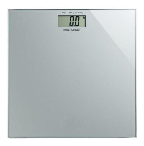 Balança Corporal Digital Multilaser Digi-health Prata, Hasta 180 Kg