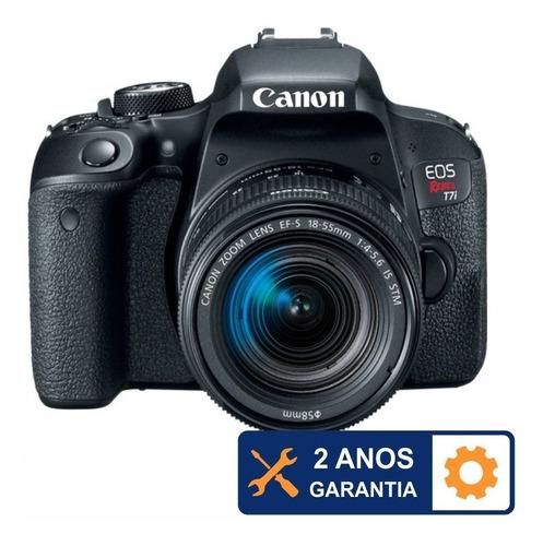 Canon T7i Com 18 55mm Stm 32gb Bolsa Nfe Temos Loja