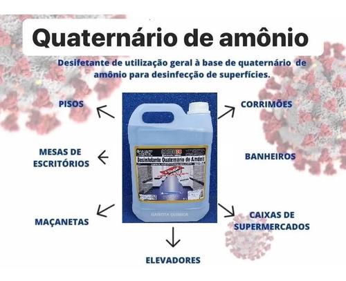 Desinfetante Hospitalar Quaternario Amonio Amonia Concentrad