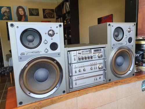 Equipo Aiwa Rack Y Bafles Originales!chiquibun Audio Vintage