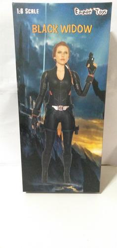 Action Figure Viúva Negra Marvel Empire Toys 1/6 Novo