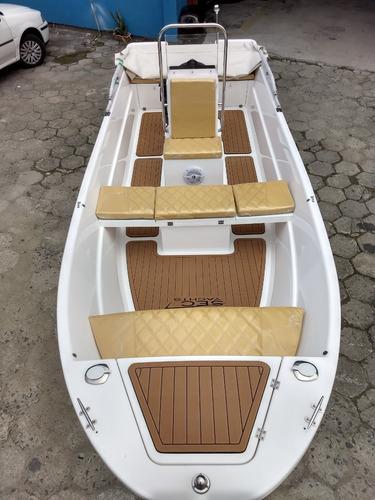 Barco De Fibra 16 Pés Modelo Secboats F167 Zero
