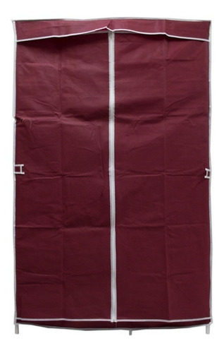 Large Portable Closet Cover Stamped Wine R07 - Ecart