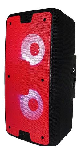 Caixa De Som Bluetooth Amplificada Portátil Usb Aux Rádio