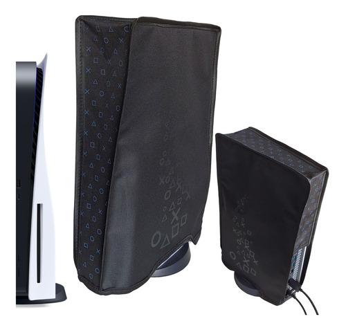 Capa Antipoeira Ps5 (bluray) Vertical Protetora Console Case