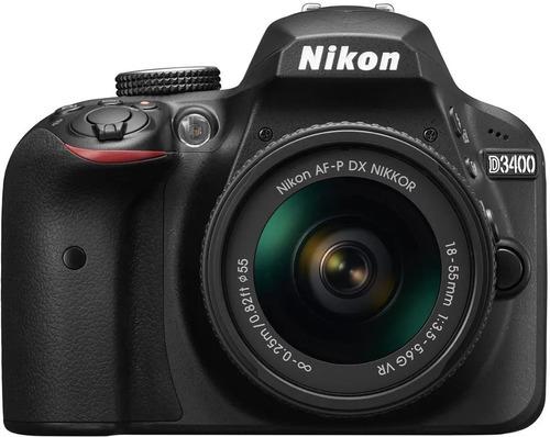 Nikon D3400 Dslr Cor Preto Usada Três Vezes