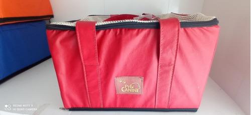 Bolsa De Transporte Aereo Latam Pro Canine 36x33x23cm 7kg
