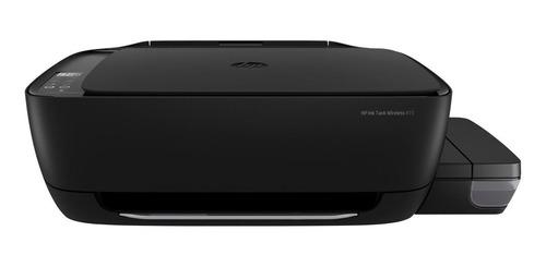 Impresora A Color Multifunción Hp Ink Tank Wireless 415 Negra 220v