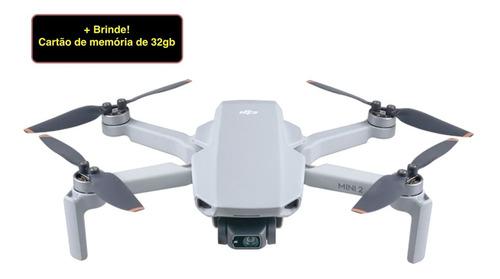 Mini Drone Dji Mavic Mini 2 Câmera 4k Light Gray