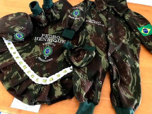 Enxoval Maternidade Exército Brasileiro