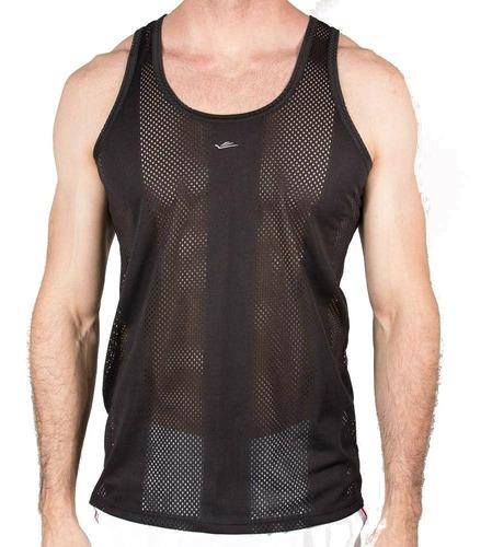 Camiseta Regata Masculina Academia Elite P Ao Eg4 Plus Size