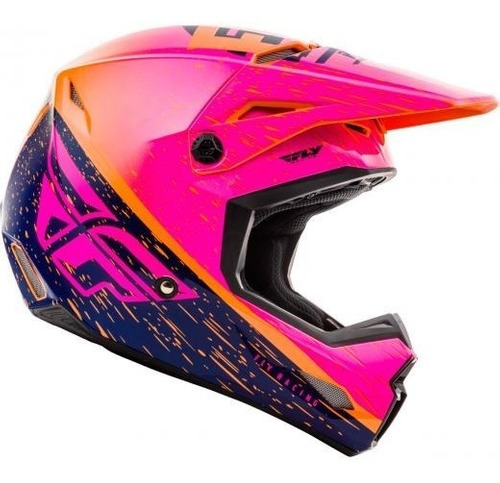 Capacete Fly Kinetic K120 Motocross Enduro Bmx Downhill