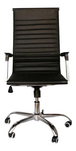 Cadeira Escritorio Secretária Couro Sintético Com Espuma