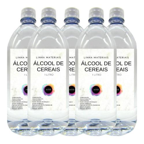 Álcool Cereais Para Lareira Ecológica Ou Limpeza - 5 Litros