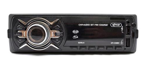 Som Automotivo Knup Kp-c30bh Com Usb, Bluetooth E Leitor De Cartão Sd