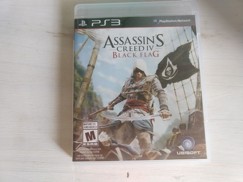 Assassin's Crees Iv Black Flag Ps3 Fisico