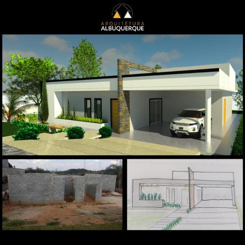 Projetos De Arquitetura, Residencial E Comercial.