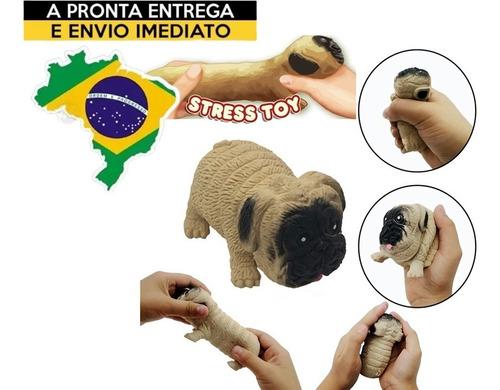 Pug Squishy Fidget Toy Antistress Cachorro No Brasil