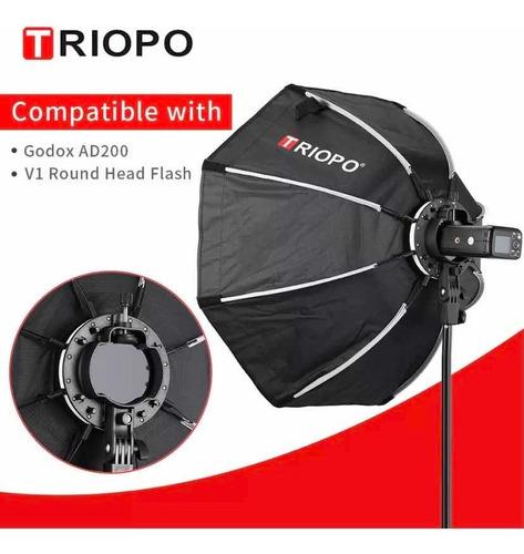 Octabox Triopo 65cm Com Suporte