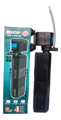 Filtro Interno C/ Bomba 1000l/h Master Aquario Fonte Cascata