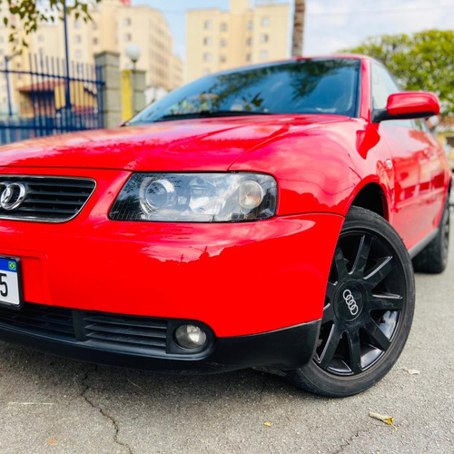 Audi A3 1.8 Turbo 2004 Automático Rodas 17  Kit Multimídia