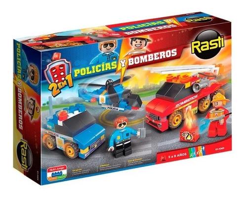 Rasti Policia/bomberos 130 Piezas Envio Full (2397)