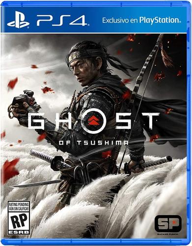Ghost Of Tsushima Standard Edition Ps4 Juego Nuevo Original
