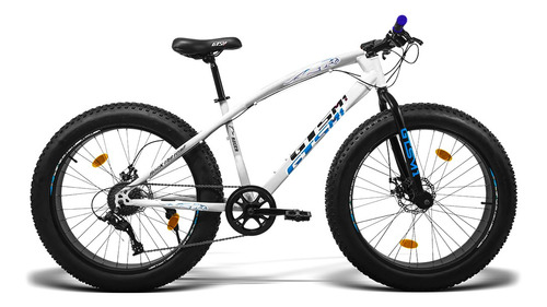 Bicicleta Gts Fat Aro 26 Freio A Disco 9v | Gts Racer Fat