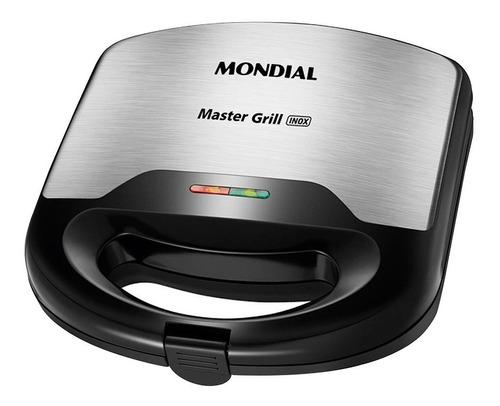 Sanduicheira Master Grill Mondial Inox S-20 110v 60hz