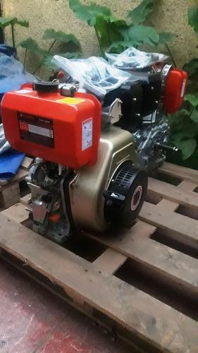 Motor 12 Hp Estacionario Diesel Partidor Leña Dcr77