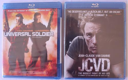 Pack Doble Bluray Del Actor Jean-claude Van Damme