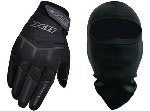Luva Motociclista X11 Fit X Motoqueiro Touchscreen Touca