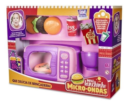Micro Ondas Infantil Chef Kids + Acessórios