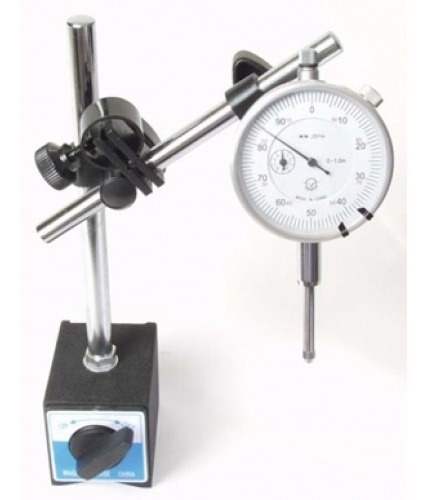 Reloj Comparador Con Base Magnética, Valor Iva Incluido