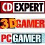 Revista: Cd Expert | 3d Gamer | Pc Gamer Edições A Escolha