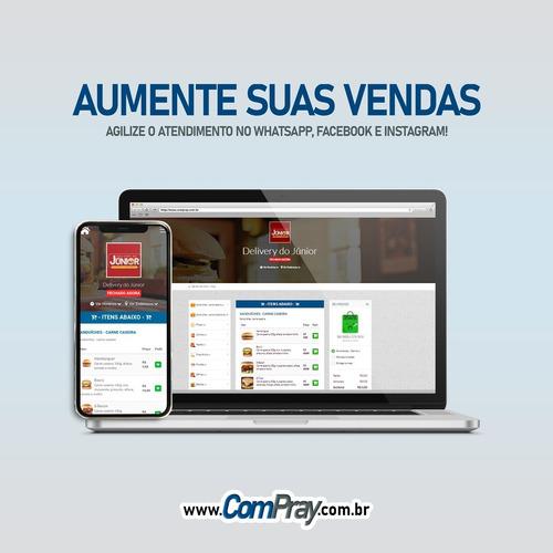 Site Cardápio Delivery - Receba Pedidos No Zap