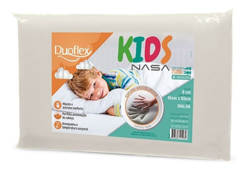Travesseiro Infantil Nasa Kids Antialérgico - Duoflex