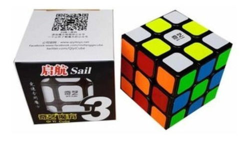 Cubo Rubik 3x3 Qiyi 3x3x3 Sail Redondead