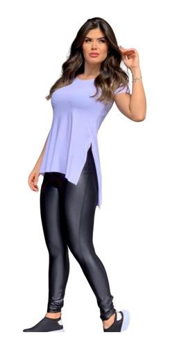 Blusa Roupa De Academia Feminina Moda Fitness Vest Legging