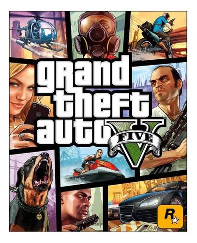 Grand Theft Auto V Standard Edition Rockstar Games Pc  Digital