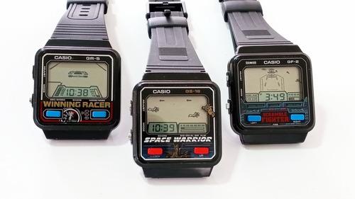 Relógio Casio Game Antigo, Coleção Anos 80 Vintage.