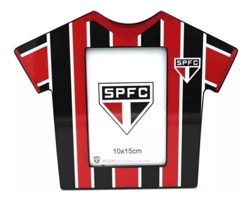 Porta Retrato Camisa Futebol Foto 10x15 Cm São Paulo